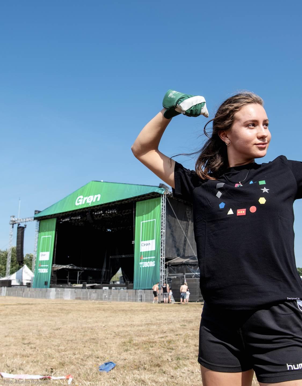 Groen volunteer