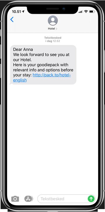 Hotel sms en