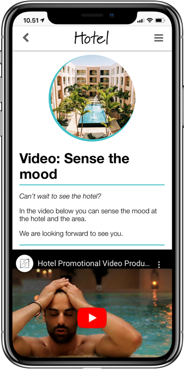 Hotel video en